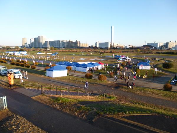 RUNNET EKIDEN in TAMAGAWAの競技場付近の画像