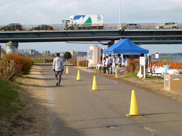 RUNNET EKIDEN in TAMAGAWA 給水地点の画像