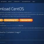 CentOSダウンロードページ