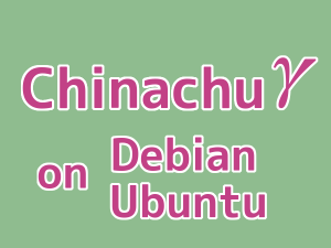 How to install Chinachu Gamma on Ubuntu, Debian